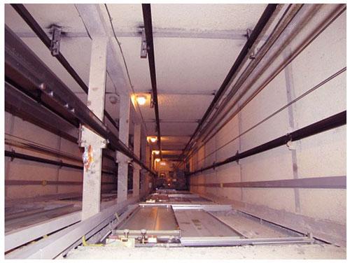قالب بندی آرماتور سقف چاه آسانسور